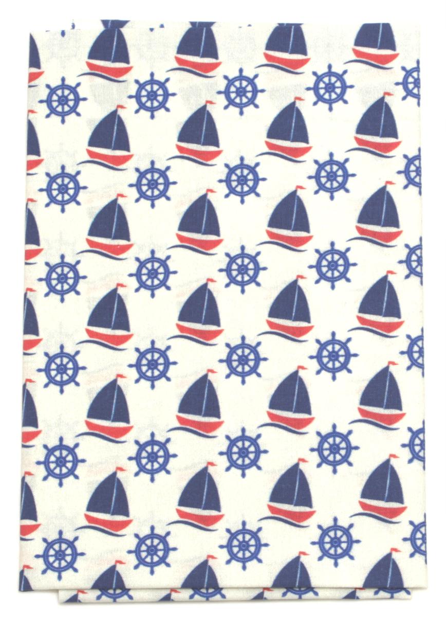 """Ткань Кустарь """"Морская коллекция №1"""", 48 х 50 см. AM602001"""