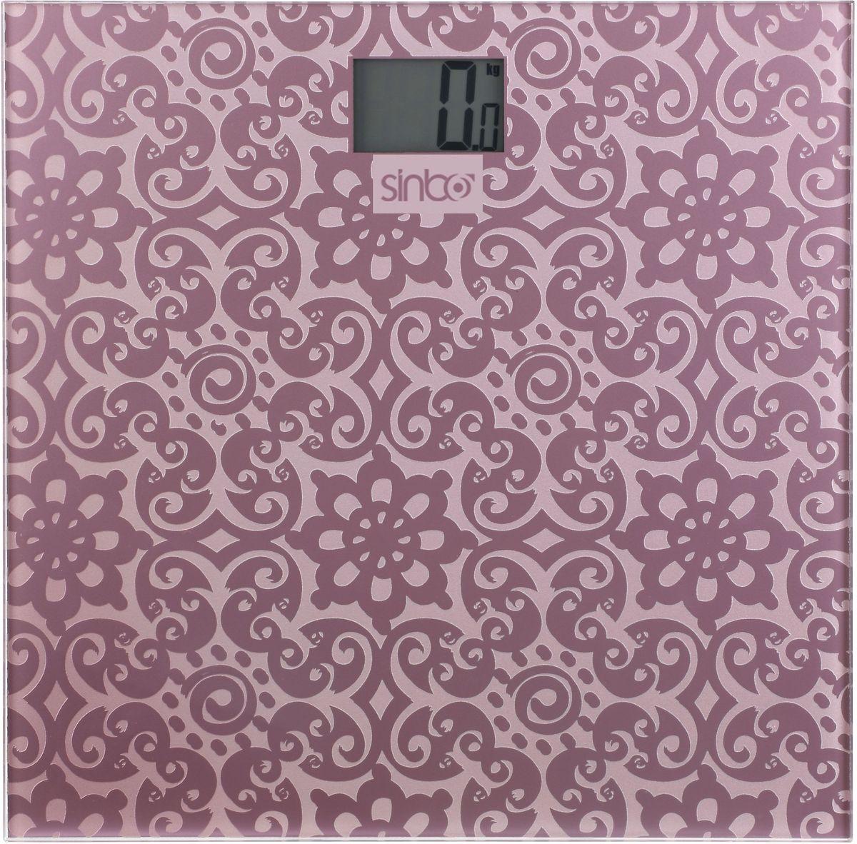 Напольные весы Sinbo SBS 4430, Purple цена