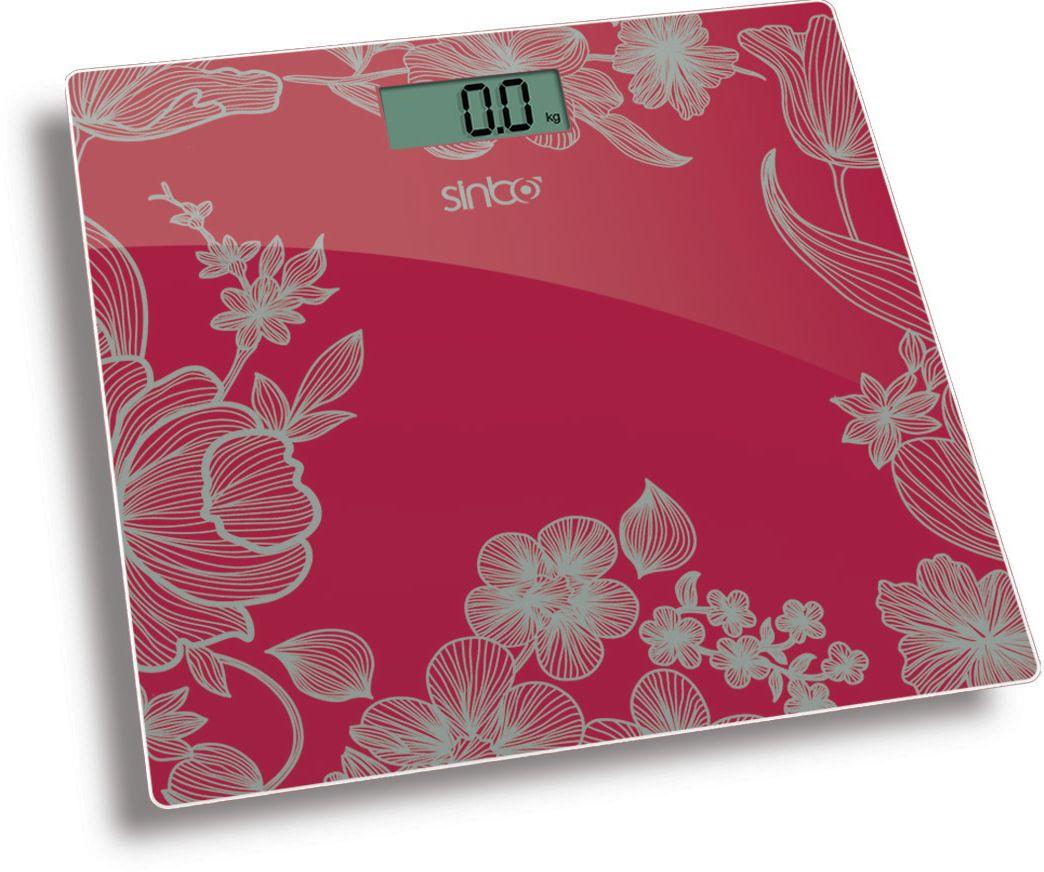 Напольные весы Sinbo SBS 4429, Red цена