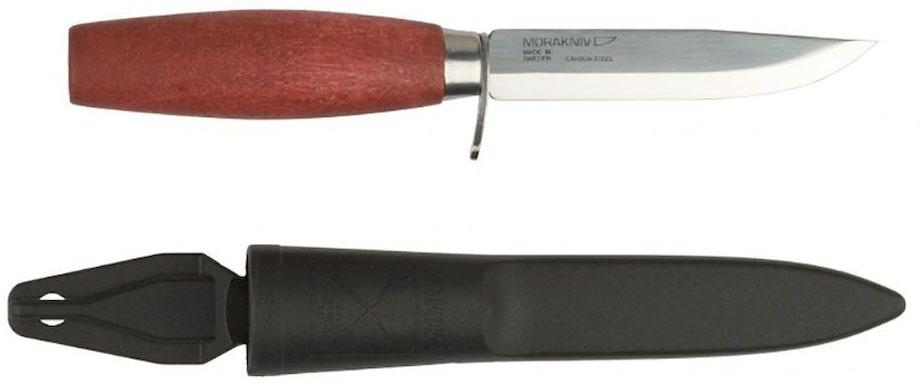 Нож туристический Morakniv Classic 611, цвет: красный, стальной, длина лезвия 9,8 см