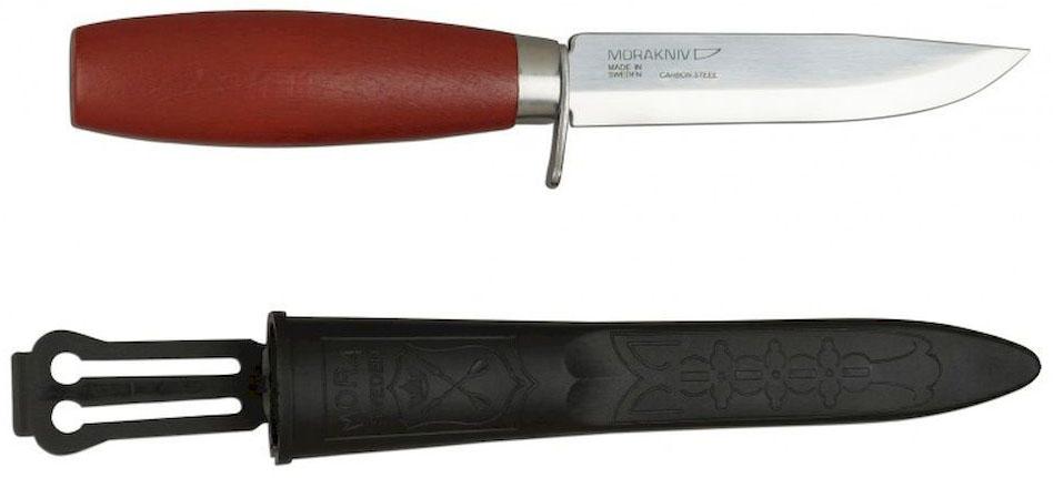Нож туристический Morakniv Classic 612, цвет: красный, в ножнах. 1-0612