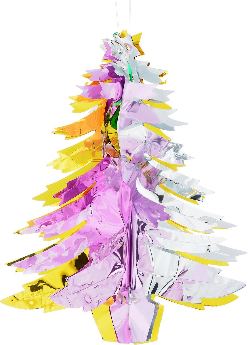 Украшение новогоднее подвесное Winter Wings Елочка, высота 26 см украшение декоративное подвесное winter wings фея высота 15 см n181724