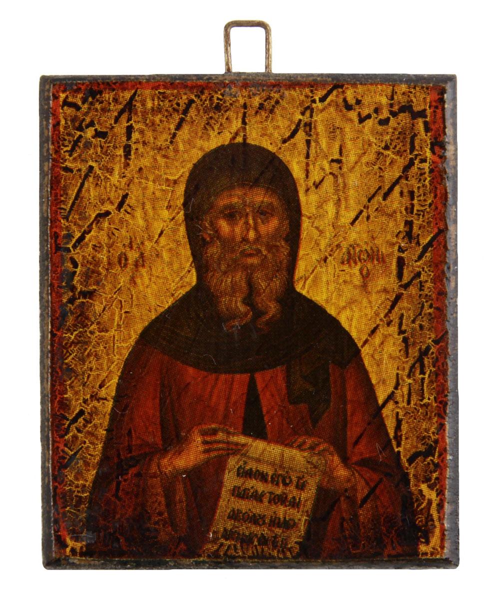 Икона-образок. Дерево, роспись, лак. Греция, вторая половина XX века икона 5 апостолов