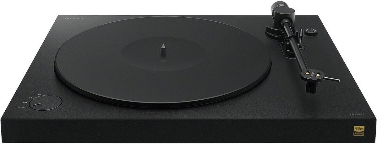 лучшая цена Проигрыватель виниловых дисков Sony PS-HX500, Black