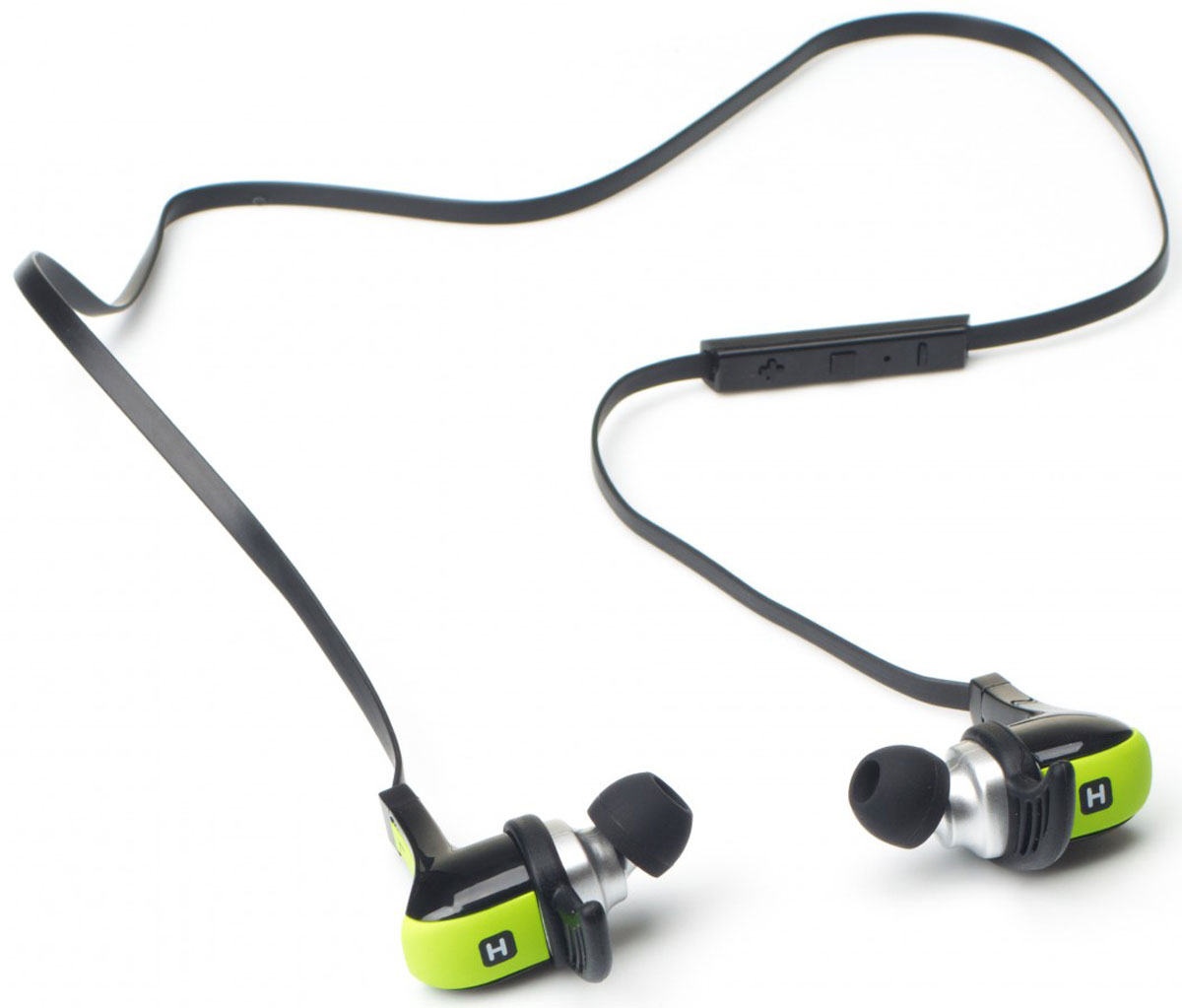 Беспроводные наушники Harper HB-308, зеленый цена и фото