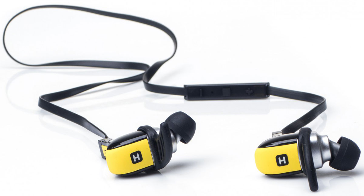 Беспроводные наушники Harper HB-308, желтый