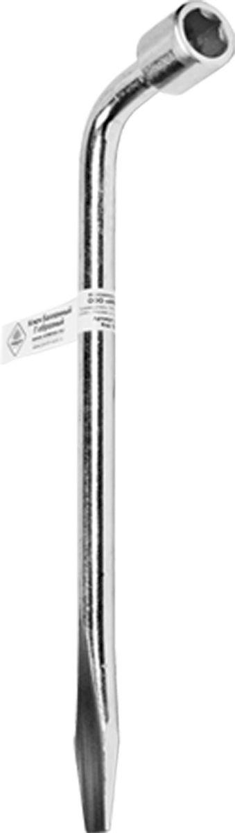 Ключ баллонный Главдор, Г-образный, 17 х 330 мм ключ г образный баллонный 22 мм