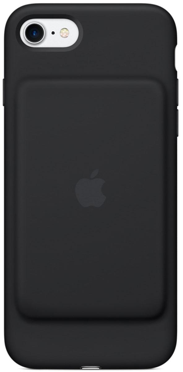 Apple Smart Battery Case чехол для iPhone 7, Black чехол с аккумулятором для iphone 7 apple black mn002zm a
