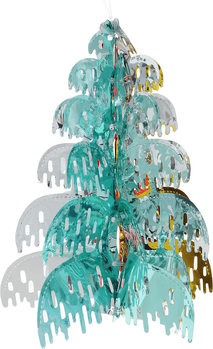 Украшение новогоднее подвесное Winter Wings Елочка, 30 х 24 х 24 см украшение новогоднее оконное winter wings новогодние герои 5 шт n09356 ангелы