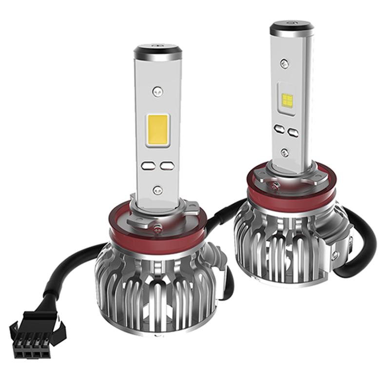 Лампа автомобильная светодиодная Clearlight, цоколь H11, 2800 Лм, 2 штCLLED28H11Светодиодные лампы Clearlight предназначены для установки в фары ближнего, дальнего и противотуманного света.Основные преимущества: Большая величина светового потока (более 2000 лм) позволяет лучше осветить дорогу и другие объекты, находящиеся перед автомобилем.Незначительное энергопотребление (20-30 Вт) снижает нагрузку на генератор и аккумулятор.Отсутствие стеклянной колбы и нити накаливания делает их более устойчивыми к ударам и вибрациям.Длительный срок службы (до 30 тысяч часов) позволяет реже задумываться о замене мгновенное включение и выключение обеспечивает удобство использования.