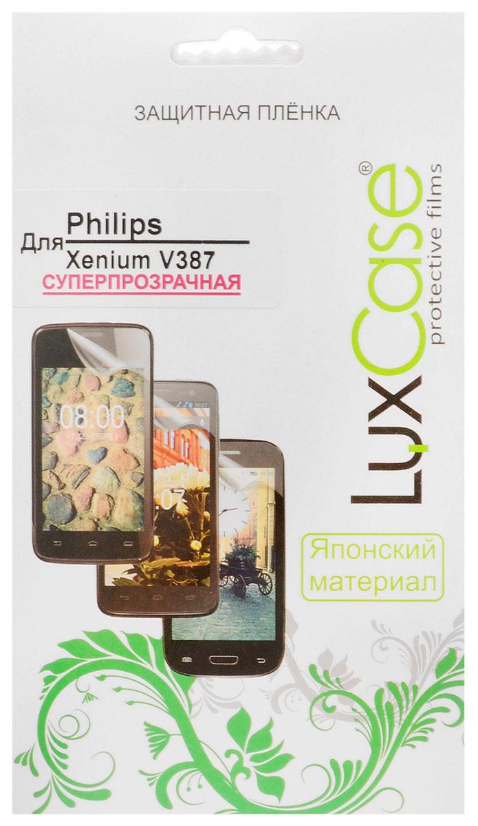 Защитная пленка Philips Xenium V387 / суперпрозрачная