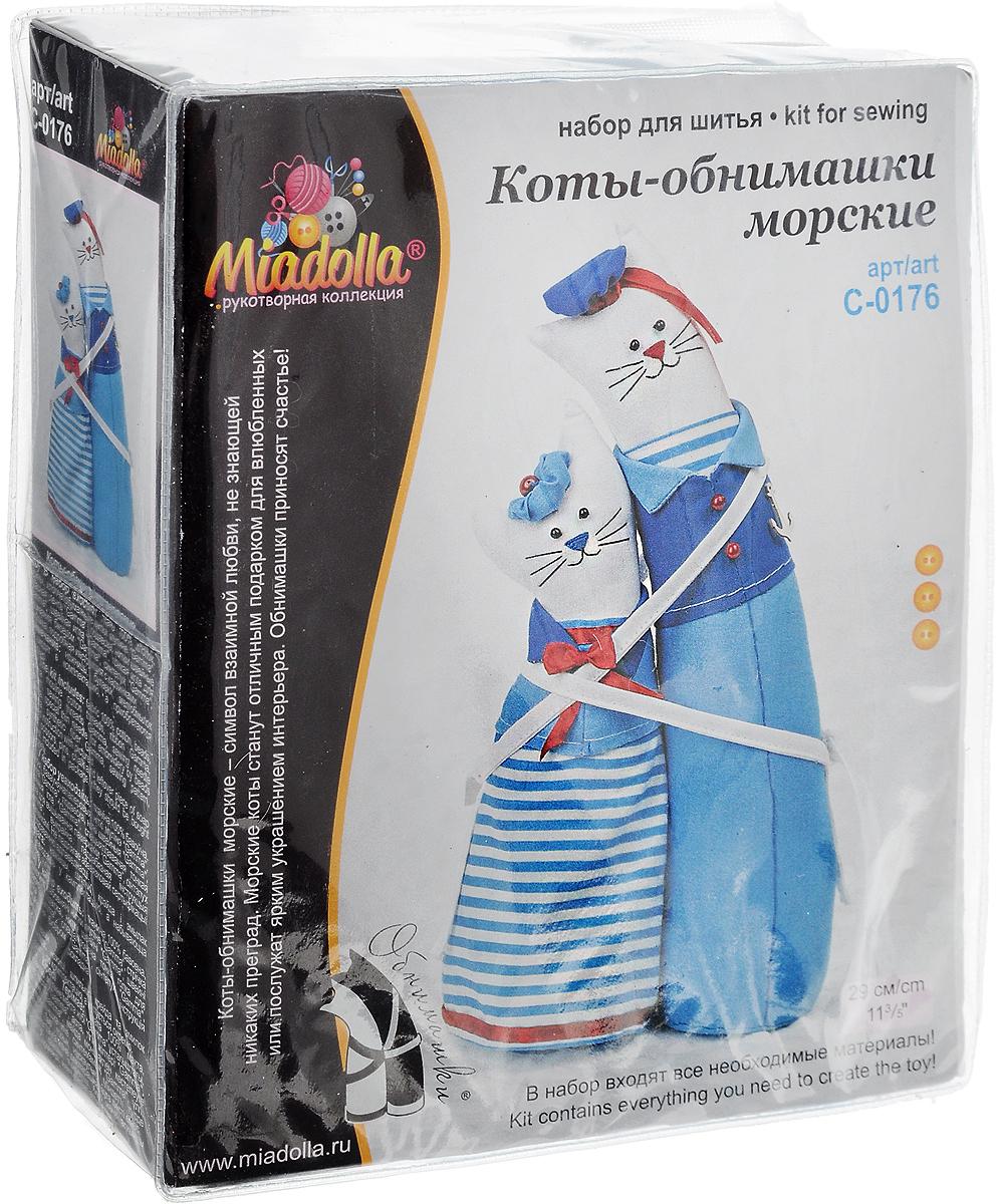 """Набор для шитья Miadolla """"Коты-обнимашки морские"""". C-0176"""