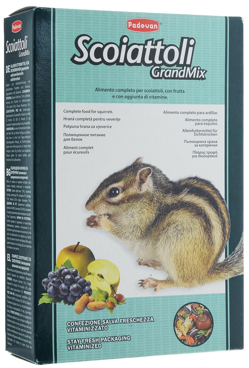 Корм Padovan Grandmix Scoiattoli для белок, 750 г padovan корм padovan lino для птиц зёрна льна 1 кг