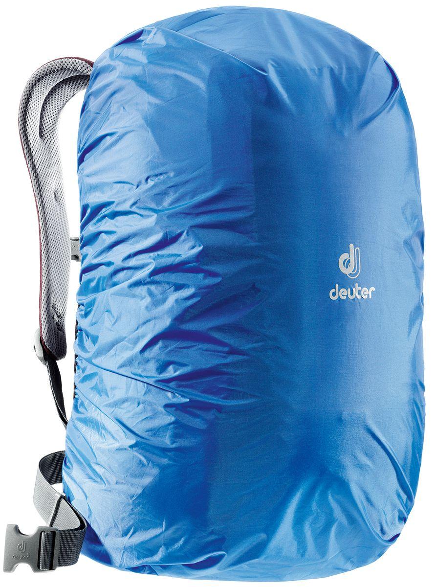Чехол для рюкзака Deuter Raincover Square, от дождя, цвет: голубой, 20-32 л