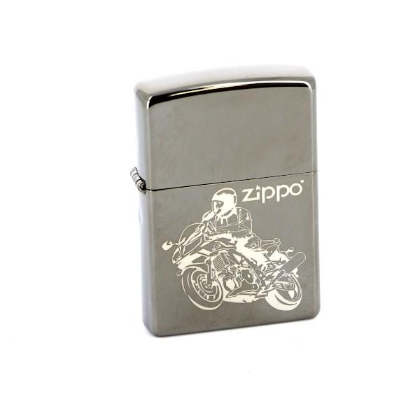 """Зажигалка Zippo """"Classic. Moto"""", 3,6 х 1,2 х 5,6 см"""