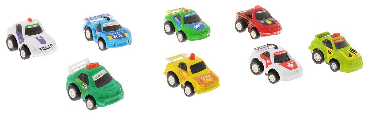 Дрофа-Медиа Набор инерционных машинок Speedy Cars 8 шт дрофа медиа набор инерционных машинок городские автомобили 8 шт