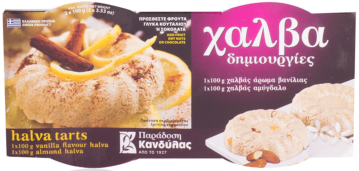 Kandylas халва ваниль-миндаль, 2 шт по 100 г цена