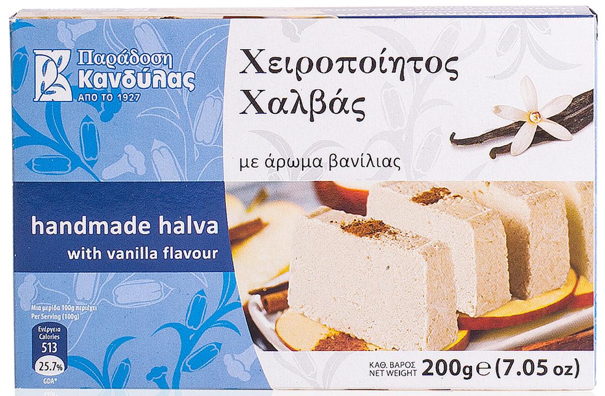 Kandylas халва с ароматом ванили, 200 г греческие авиалинии