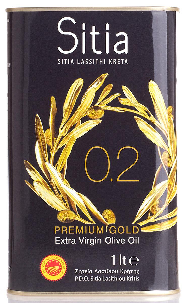 Sitia масло оливковое Extra Virgin кислотность 0,2%, 1 л оливковое масло agrovim iliada sitia pdo extra virgin 500 мл греция