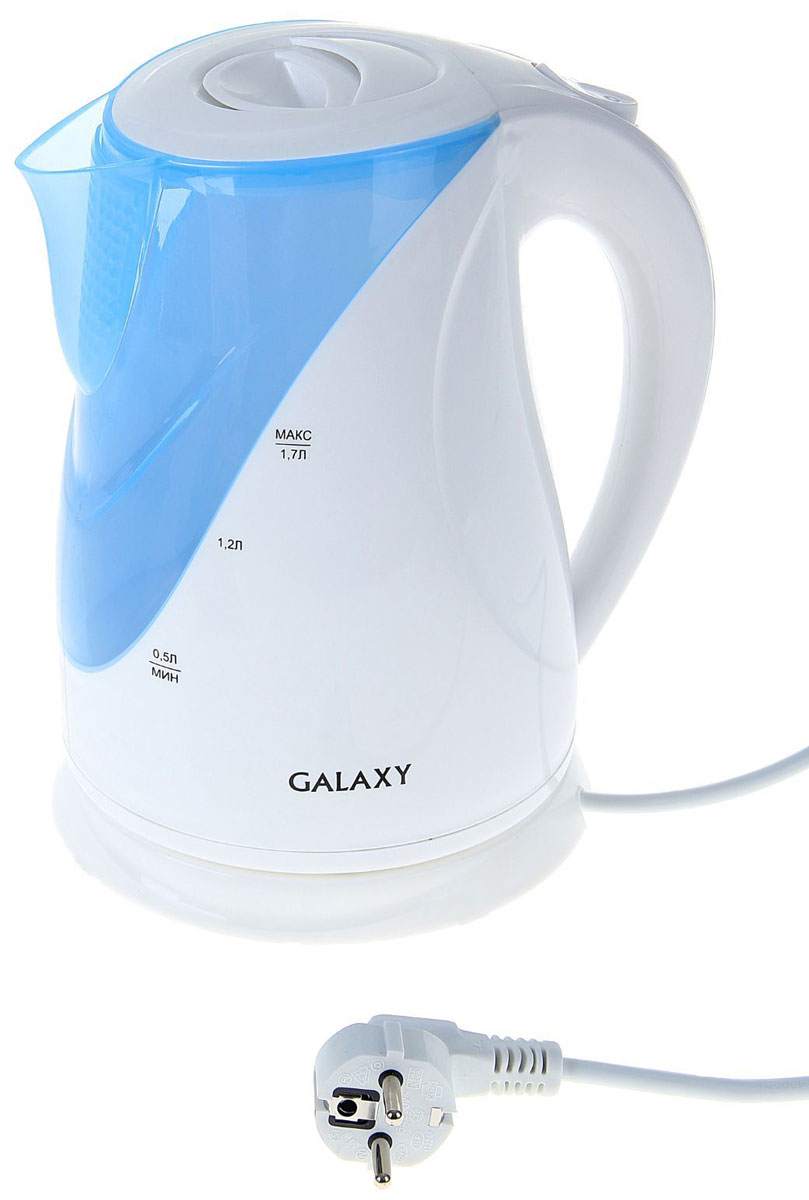 Электрический чайник Galaxy GL 0202 электрочайник galaxy gl 0103 голубой