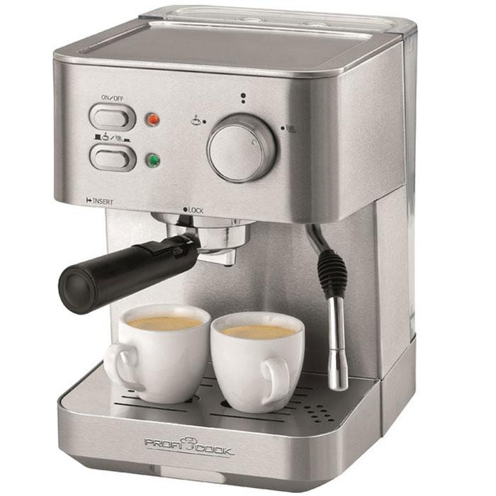 лучшая цена Кофемашина Profi Cook PC-ES 1109, Silver
