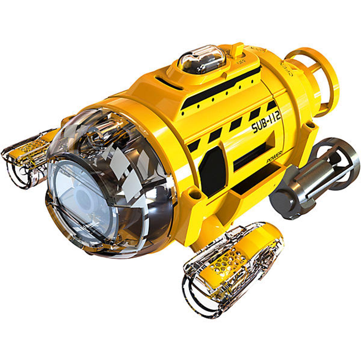 Silverlit Подводная лодка на инфракрасном управлении игрушка для ванны tomy смотровая подводная лодка