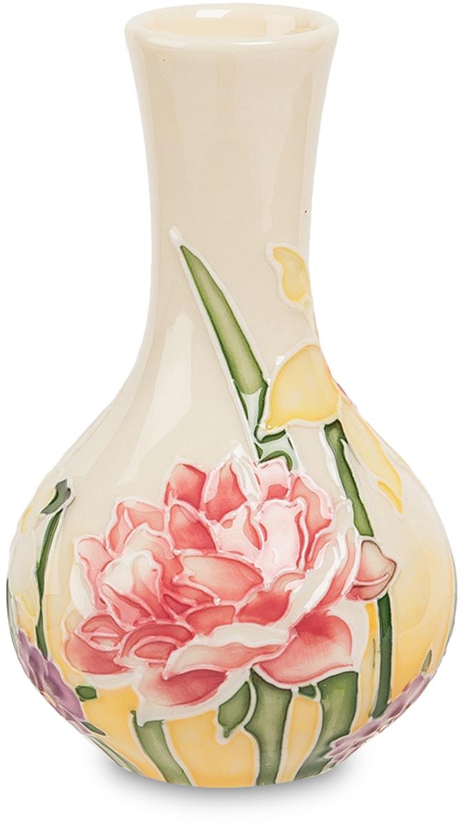Открытка вазочка