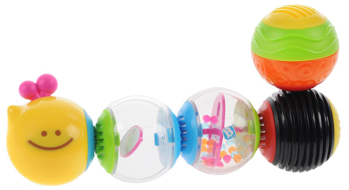 B kids Развивающая игрушка Веселая гусеничка 004835 игрушка b kids телевизор 003805b