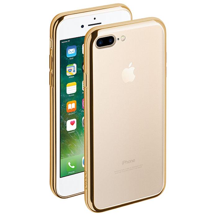 Deppa Gel Plus Case чехол для Apple iPhone 7 Plus/8 Plus, Gold чехол клип кейс deppa air case для apple iphone 6 plus черный [83124]