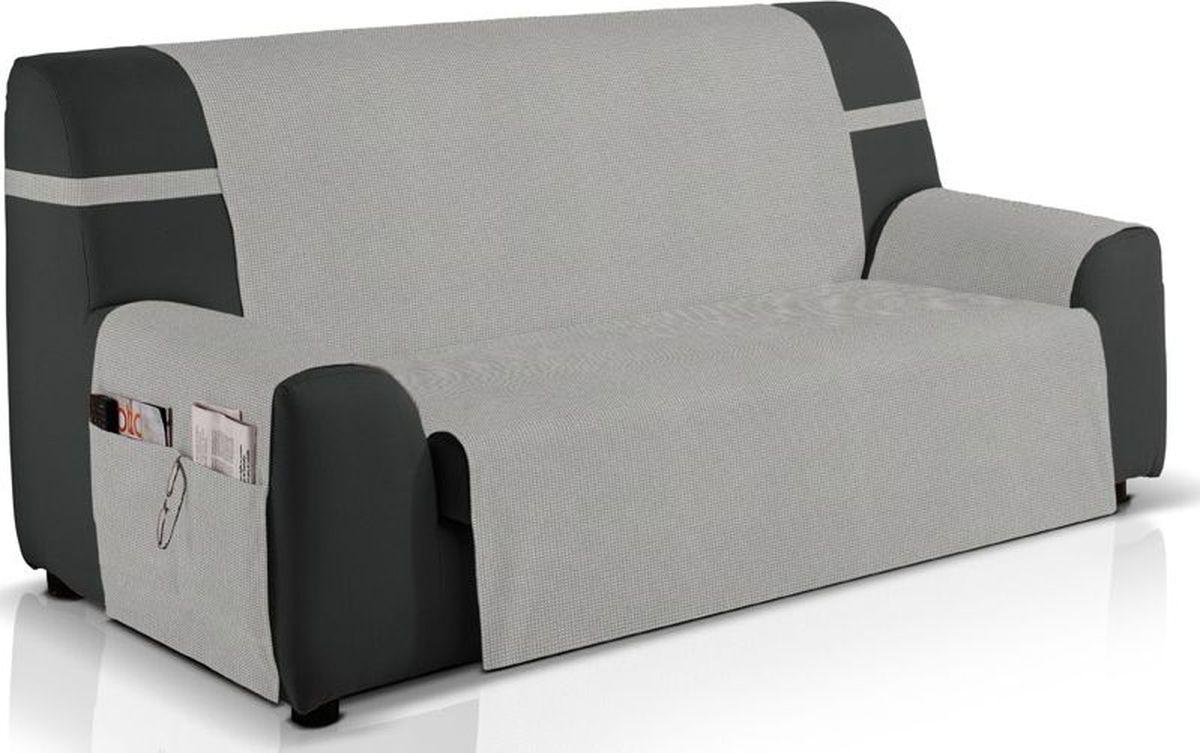 Чехол на трехместный диван Медежда Иден, цвет: светло-серый цена