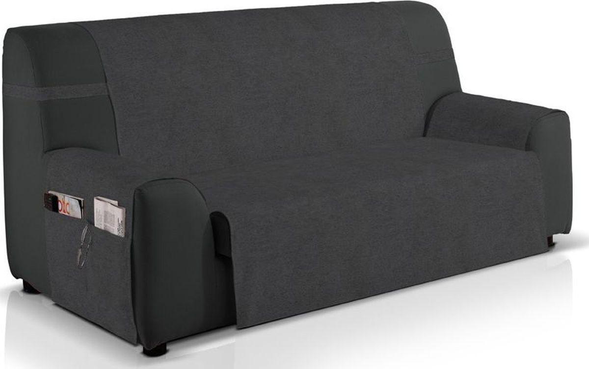 Чехол на трехместный диван Медежда Иден, широкий, непромокаемый, цвет: темно-серый цена