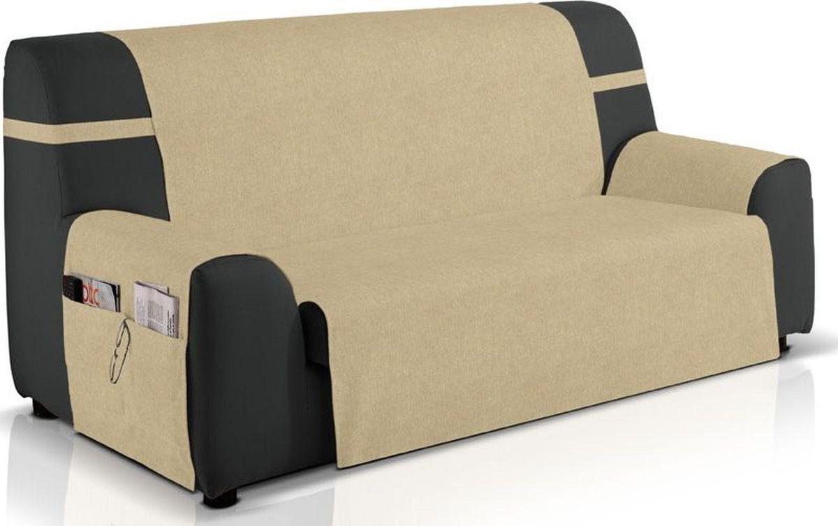 Чехол на трехместный диван Медежда Иден, широкий, непромокаемый, цвет: бежевый цена