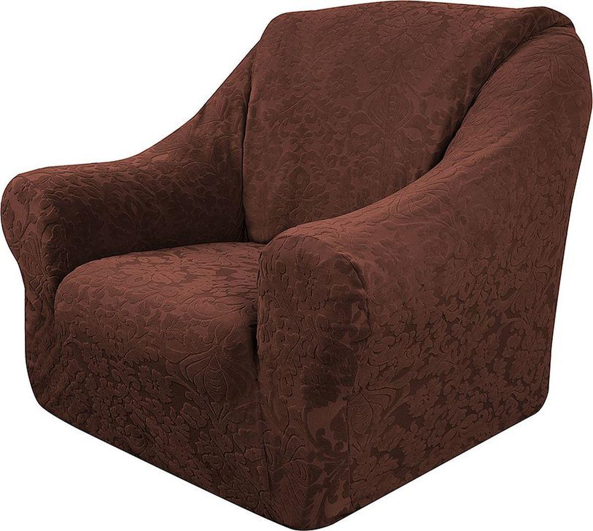 Чехол на кресло Медежда Челтон, цвет: шоколадный цена