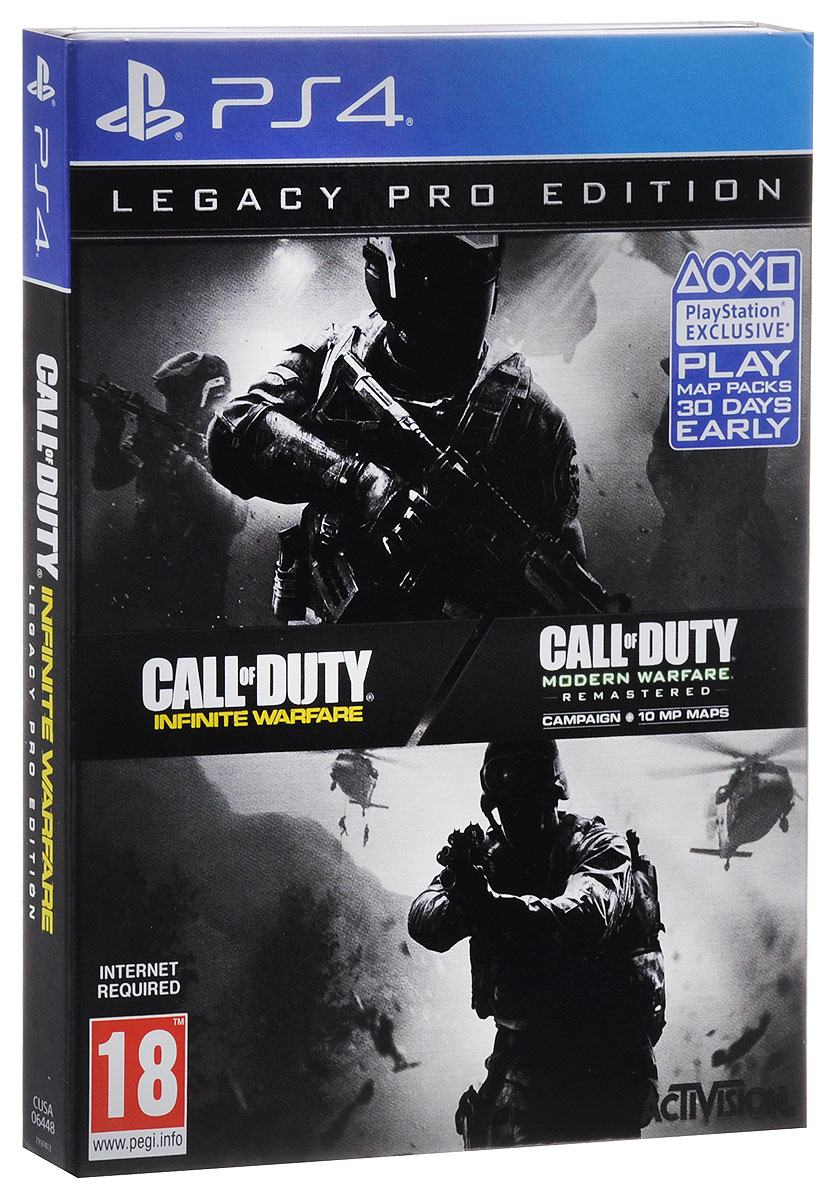 цены Игра Call of Duty. Infinite Warfare Legacy Pro Edition для PS4 Sony