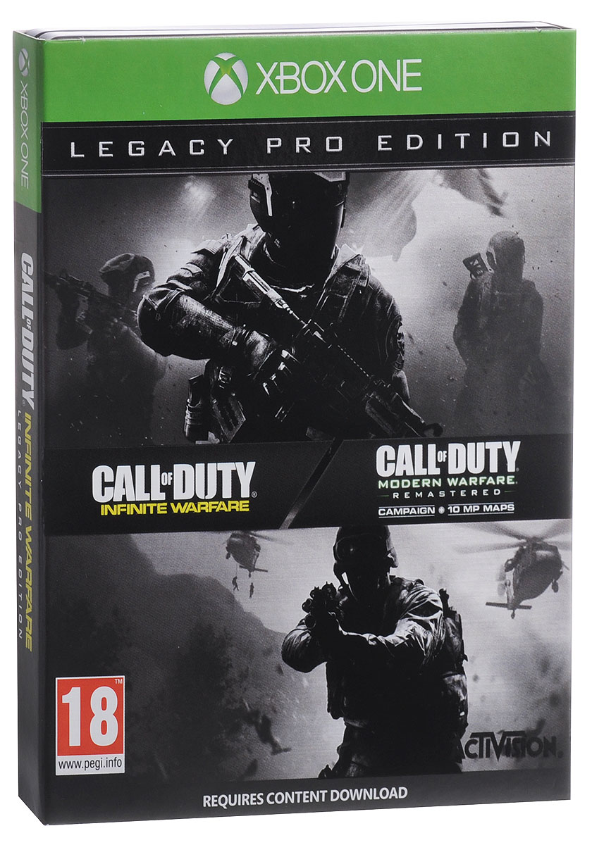 цена на Call of Duty. Infinite Warfare Legacy Pro Edition (Xbox One)