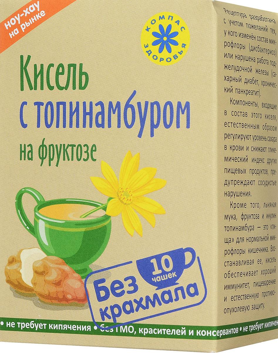 Компас Здоровья С топинамбуром кисель овсяно-льняной на фруктозе, 150 г