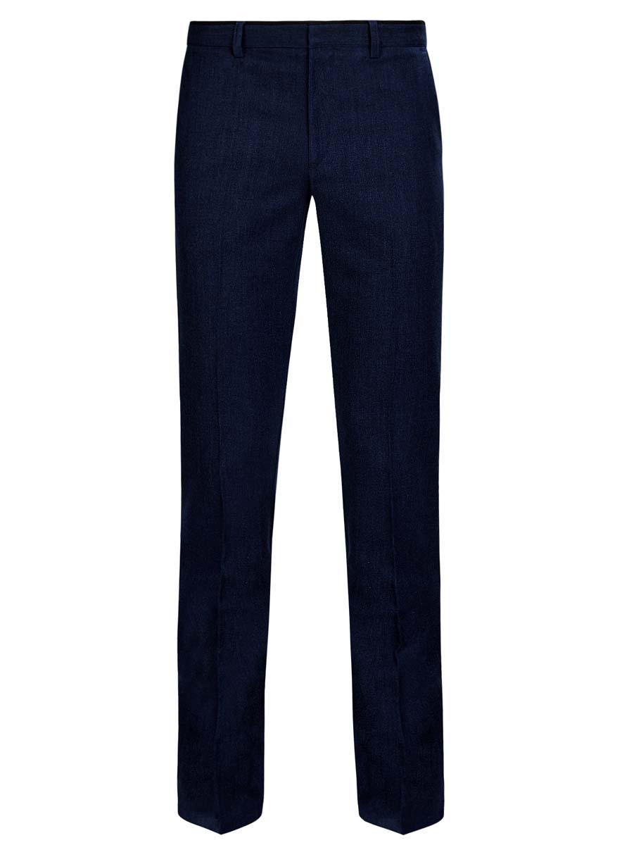 Брюки oodji Lab джинсы мужские oodji lab цвет синий джинс 6l120128m 45068 7500w размер 29 32 46 32