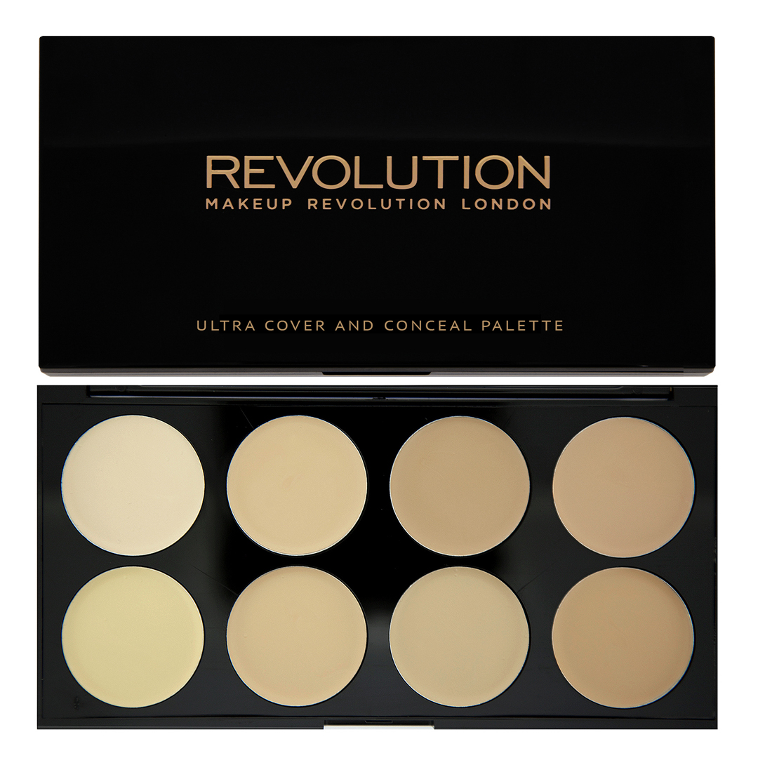Makeup Revolution Набор консилеров Cover And Conceal, Light, 10 гр