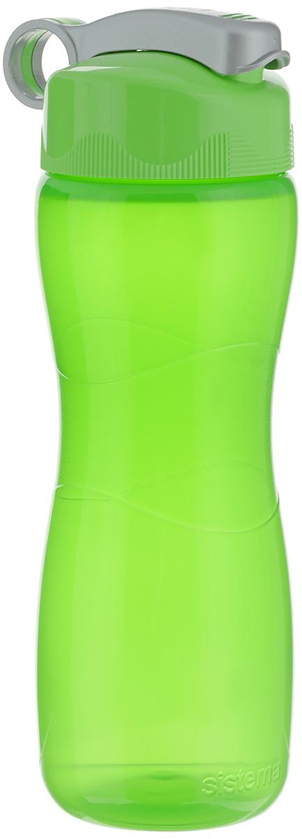 Бутылка 590_салатовый, зеленый