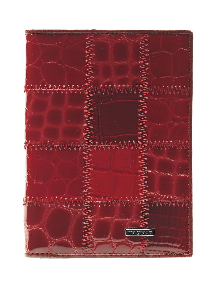 Обложка для паспорта Malgrado, цвет: красный. 54019-1A-444A обложка для паспорта malgrado цвет красный 54019 1 44