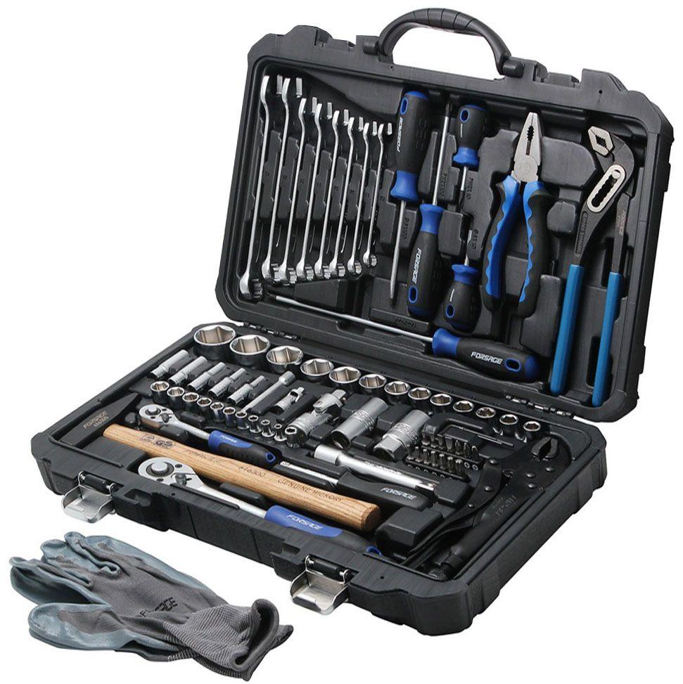 Набор инструментов универсальный Forsage, 72 предмета. 4722-5