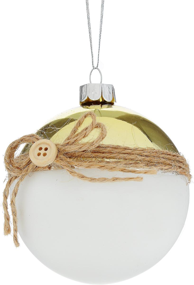 Украшение новогоднее подвесное Winter Wings Шар, диаметр 7,5 см новогоднее подвесное украшение winter wings шар роспись цвет красный диаметр 8 см