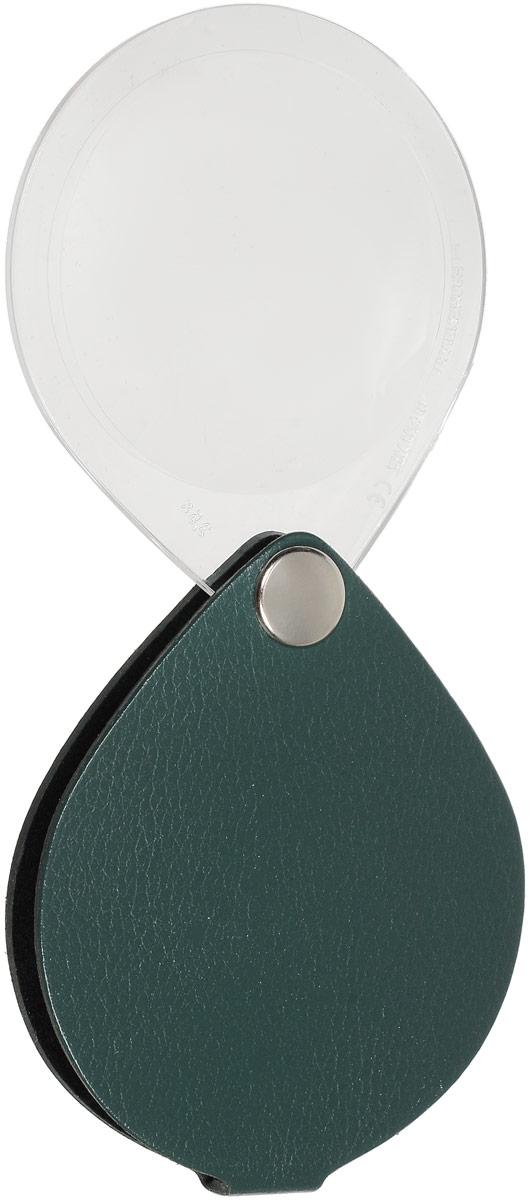 Лупа складная Eschenbach  Classic , цвет: зеленый, 3.5х 10.0 дптр, диаметр 5 см. 1740
