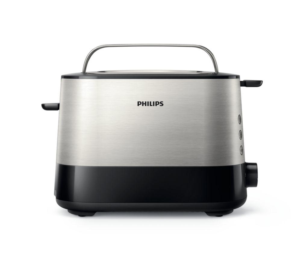 Тостер Philips HD2635/90, Black Silver