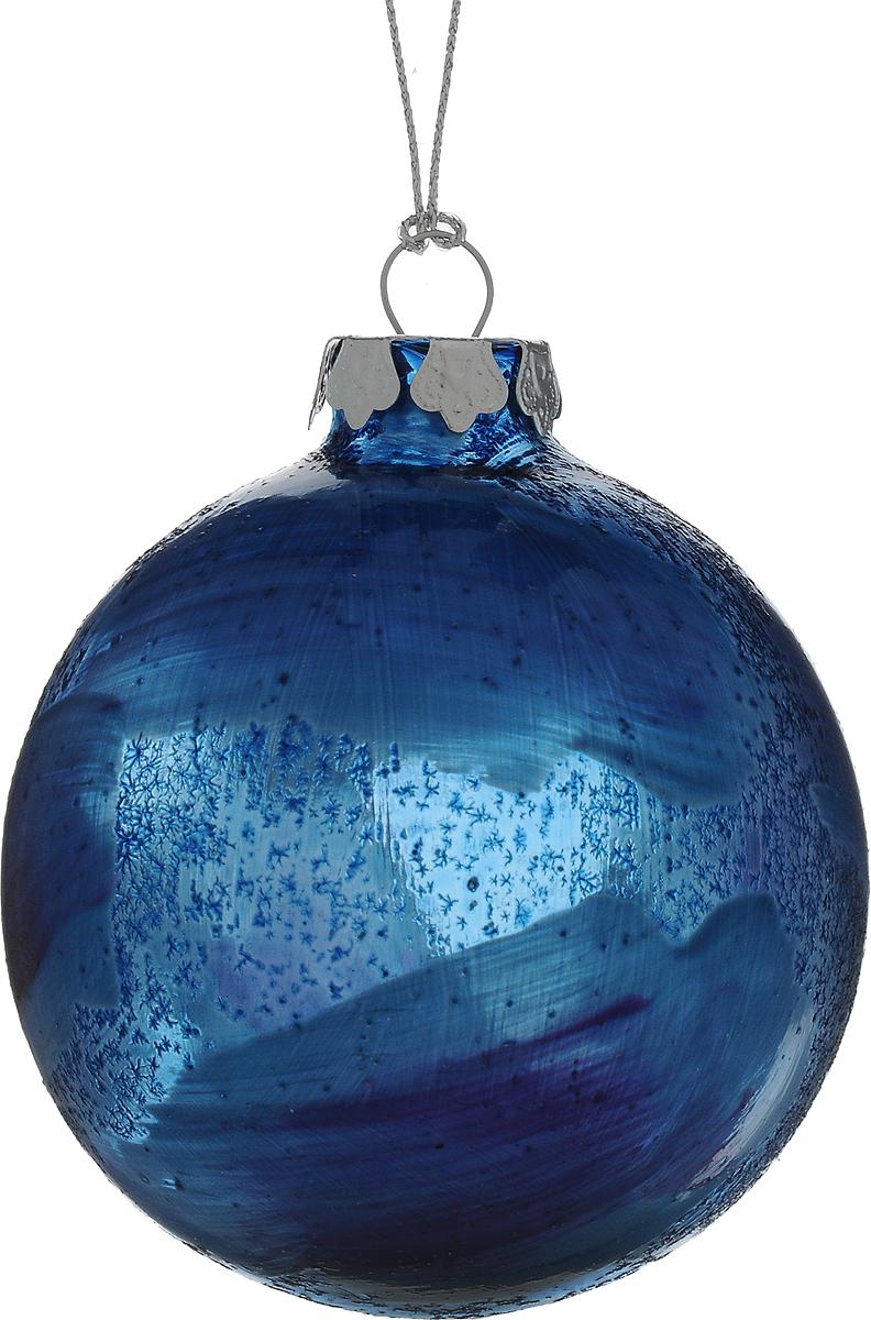 Украшение новогоднее подвесное Winter Wings Шар, диаметр 8 см. N079103 новогоднее подвесное украшение winter wings шар роспись цвет красный диаметр 8 см
