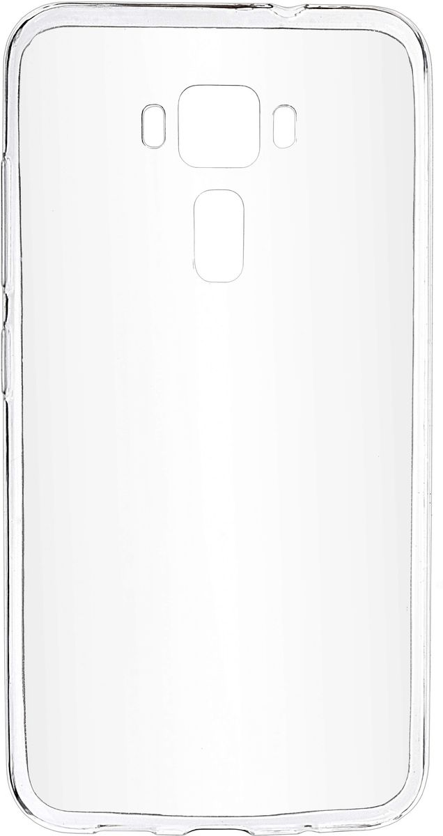 Skinbox Slim Silicone чехол-накладка для Asus Zenfone 3 ZE520KL, Crystal все цены