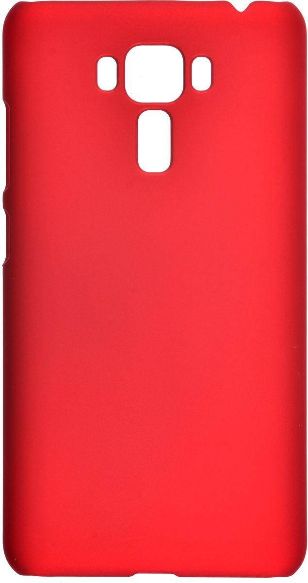 Skinbox 4People чехол-накладка для Asus ZenFone 3 Laser ZC551KL+ защитная пленка, Red аксессуар чехол asus zenfone 3 zc551kl skinbox 4people red t s azzc551kl 002 защитная пленка