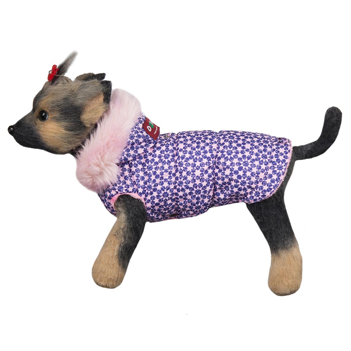 """Куртка для собак Dogmoda """"Аляска"""", для девочки. Размер 1 (S)"""