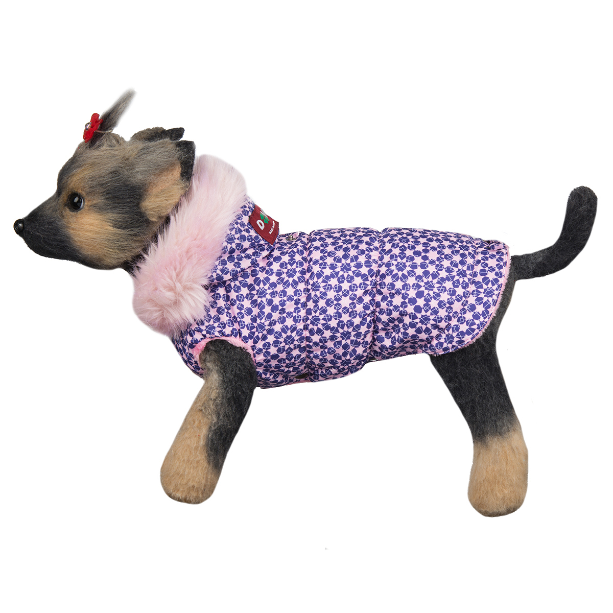 """Куртка для собак Dogmoda """"Аляска"""", для девочки. Размер 4 (XL)"""