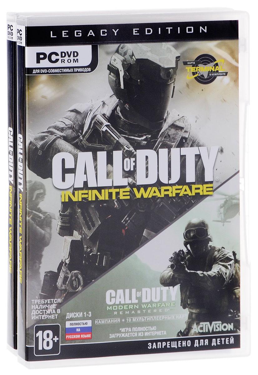 цена на Call of Duty: Infinite Warfare Legacy Edition (6 DVD)